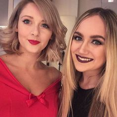 Me and @whatshedidx looking like complete cuties before the Glam Gala last night! Had such a lovely time - thank you for having us!  #bestcoupleever  ________________________________________ #beautyblogger #bbloggers #thegirlgang #ukbloggers #makeup #mua #makeuplover #beauty #motd #makeupoftheday #blog #instabeauty #instamakeup #fotd  #makeupblogger #gbeauty #photooftheday #igers #theeverygirl  #blogginggals #hudabeauty #zoella #wakeupandmakeup #makeupaddict #bbloggersuk #photosinbetween…