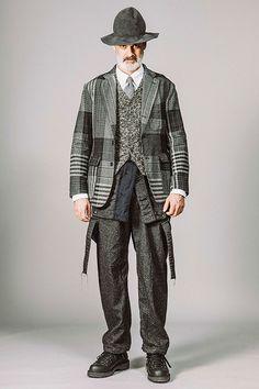 エンジニアド ガーメンツ 2017年秋冬コレクション - 伝統的な男性社会に現れる温もりと豊かな色彩 | ファッションプレス