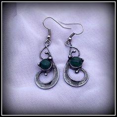 Malachite earrings / SOLD /