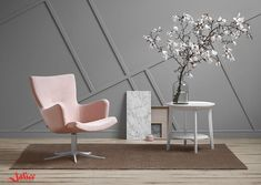 Wonderful Do You Have A Favourite Spot In Your Home Yet? It Must Be This Gyro Resting  #chair! Its Softest Leather, Warmest Pink And The Comfortable, ...
