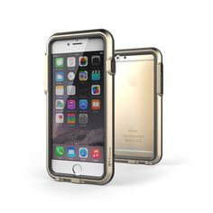 protect your iPhone 6 with this Gold + Black case
