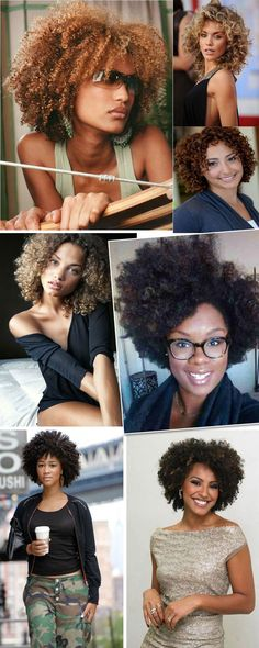 corte-cabelo-cacheado Natural Hair Cuts, Dyed Natural Hair, Natural Afro Hairstyles, Curled Hairstyles, Cool Hairstyles, Natural Hair Styles, Short Curly Hair, Short Hair Styles, Crimped Hair