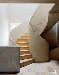 Modern Staircase/Hallway in Madrid, Spain