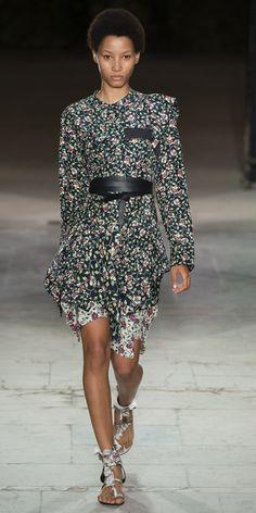 Desfile Isabel Marant PrimaveraVero 2017 Paris Fashion Week Destaques  Fragmentos de Moda