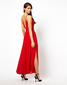 $67.50 | Made from a delicate semi-sheer polyester chiffon | Deep scoop neckline | Underlay to the body | Very cheap! Could have it tailored to fit cheaply in Memphis ...