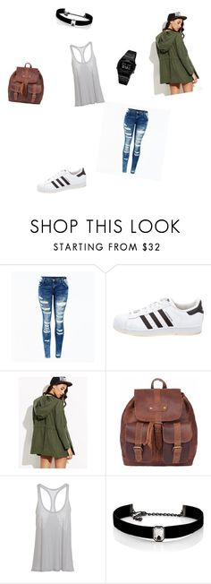 """""""I don't care outfit?? XD sorry"""" by mummlis ❤ liked on Polyvore featuring adidas, Kenneth Jay Lane and Casio"""