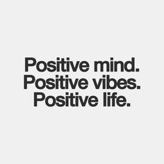 Surround yourself with positive people ♥