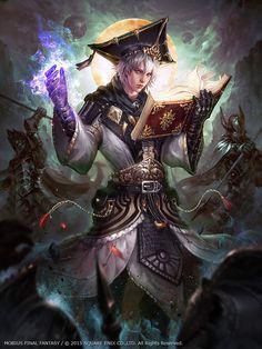 Mobius Final Fantasy -- Scholar by Dopaprime on DeviantArt