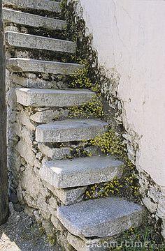 Crete stairs by Daniel Boiteau, via Dreamstime