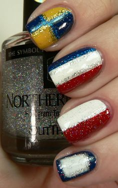 Nautical Flag Nails