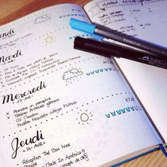 Soho Hana - 5 astuces pour un Bullet Journal presque parfait 2017 Bullet Journal, Bullet Journal Hacks, Bullet Journals, Journal Layout, Journal Pages, Journal Ideas, Filofax, Bujo, Organization Bullet Journal