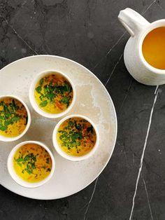 Linsesuppe med gulerod og citron opskrift