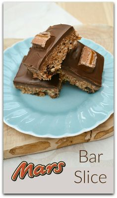 Mars Bar Slice. A retro treat that's no-bake and easy to make. Crisp chocolate (a layer or dark, then a layer of milk chocolate) on top of a chewy caramel crispy base.