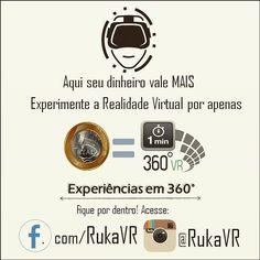 An awesome Virtual Reality pic! Nossa missão é lhe proporcionar a melhor diversão pelo menor preço possível.  Em breve mais novidades  Siga nossas redes e fique por dentro: @rukavr Fb.com/RukaVR  #virtualreality #360 #vr #realidadevirtual #3d #imersion #technology #instatech #rukavr #tecnologia #startup #barato #pechincha #entretenimento #cinema #videos #interactive by rukavr check us out: http://bit.ly/1KyLetq