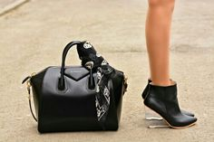 Fierce bag and shoes