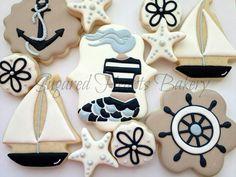 Beach Ocean Cookies | Sugared Hearts Bakery