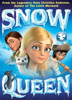 Snow Queen DVD (Wizart Animation and Vertical Entertainment)