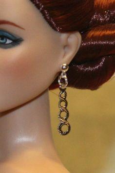 """""""Twisted Spirals"""" ASP Earrings for Tonner Tyler Ellowyne DeeAnna Gene Sybarite"""