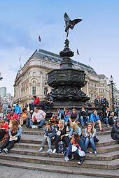 Piccadilly Circus - Wikipedia, the free encyclopedia
