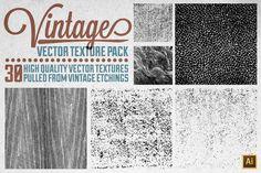 Check out Vintage Vector Texture Pack by Matt Borchert on Creative Market