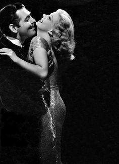 Jean Harlow and Clark Gable - When the stars showed grace and class!