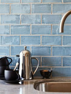 The Ultimate Guide to Backsplashes CLAY TILE Pros: Whether matte or glazed, chevron or brick--this stuff just looks expensive. Cons: Tile and grout must be sealed annually, and since clay tile is often unsealed on the edges, it requires finishing with trim where it meets the wall. Price/Sq. Ft.: $6 to $50