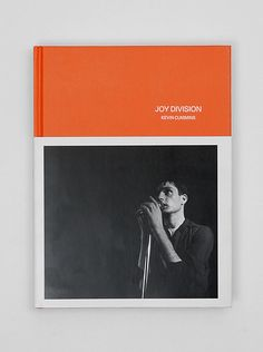 """""""The book Joy Division collects more than two hundred sensitive photographs of the band by Kevin Cummins, capturing their quiet introspection offstage, their close relationships as bandmates, and Ian Curtis's legendary energy in live performances. Joy Division, Album Photo, Photo Book, Front Cover Designs, Print Layout, Book Layout, Book Images, Grafik Design, Book Cover Design"""
