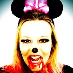 Halloween \'13 zombie Minnie Mouse