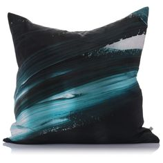 Like a piece of art for your couch. Soma large silk cushion. Made in NZ of course.