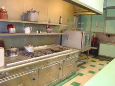 Marland Mansion kitchen