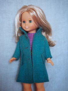 Abrigo azul para Nancy