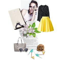 Um bom lugar para ler um livro!!!! by elainedahor on Polyvore featuring polyvore fashion style Philipp Plein Christian Louboutin Karl Lagerfeld