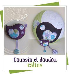 Coussin & doudou Zozio  Décembre 2009