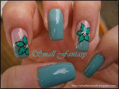 SmallFantasy: Blue-green flower
