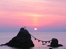 お伊勢参りの時には是非に参詣を。二見興玉神社。八大龍王大神を祀る龍宮社も御座います。