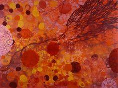 "Kevin Ming Young, ""cytosol"", abstract painting"