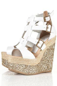 Zapato Topshop glitter