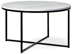 Novali Soffbord, Ø 80 cm   Mio Table, Furniture, Design, Home Decor, Metal, Decoration Home, Room Decor, Tables