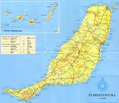 maps of fuerteventura google search map of fuerteventura pinterest landkarten. Black Bedroom Furniture Sets. Home Design Ideas
