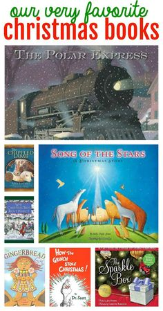 Our Very Favorite Christmas Books for Kids:  Some just for fun and some that challenge children to recognize the true meaning of the Season!