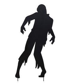 Living Dead Man Silhouette Garden Stake #zulily #zulilyfinds