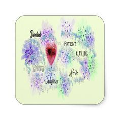 #mom square sticker - #mom #mum #mother #wife #mothersday #gift #bestmom