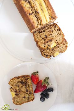 Το καλύτερο μπανανοψωμο που έχετε φάει ποτέ. Τόσο λαχταριστό και είναι φτιαγμένο με 100% υγιεινά υλικά: ελαιόλαδο και φυσικά γλυκαντικά (μέλι και μπανάνα). Dessert Recipes, Desserts, Stevia, Gluten Free Recipes, Free Food, Banana Bread, French Toast, Menu, Sugar