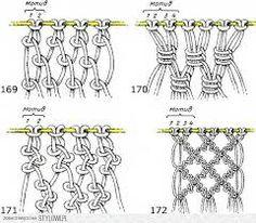 Znalezione obrazy dla zapytania makrama wzory