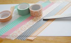 colourful washi tape, taped to a white carton, preschool learning, step by step, diy tutorial Creative Activities, Preschool Activities, Preschool Learning, Washi Tape, Duct Tape, Tape Crafts, Diy Crafts, Types Of Pencils, Wooden Pencils