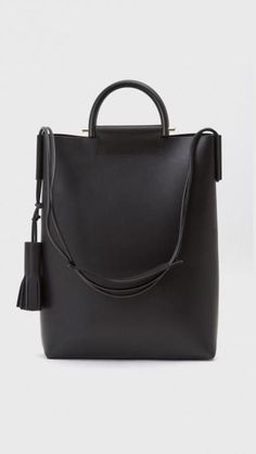 Ideas for your capsule wardrobe: Building Block Business Briefcase Bag in Black
