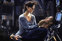 1999 Keanu Reeves and Carrie-Anne Moss in The Matrix