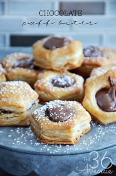 Chocolate Puff Bites
