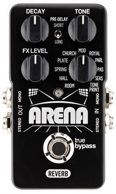 TC Electronic and Guitar Center Release Arena Reverb
