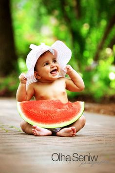 Aw, who doesn't love watermelon?!